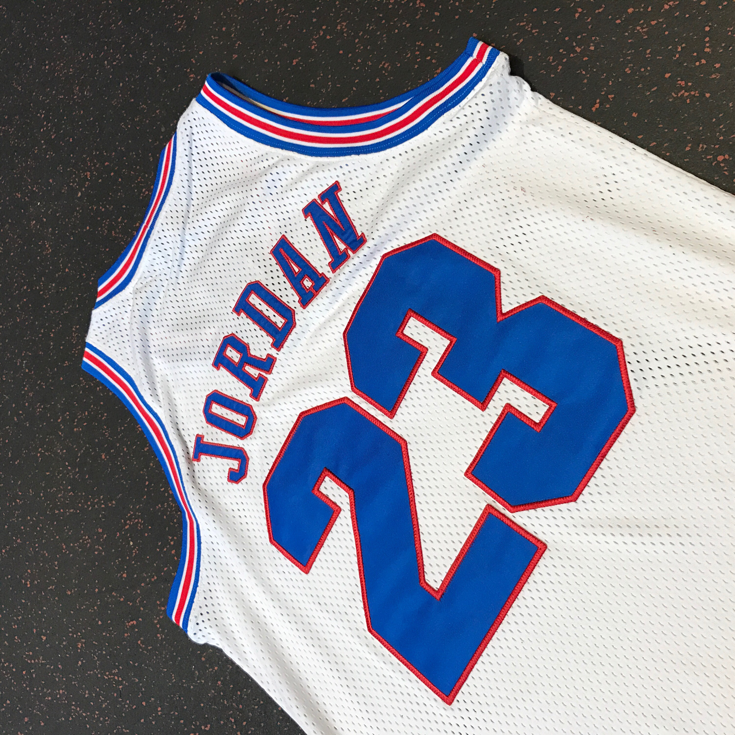 reputable site af7a0 96fea Michael Jordan Space Jam Jersey