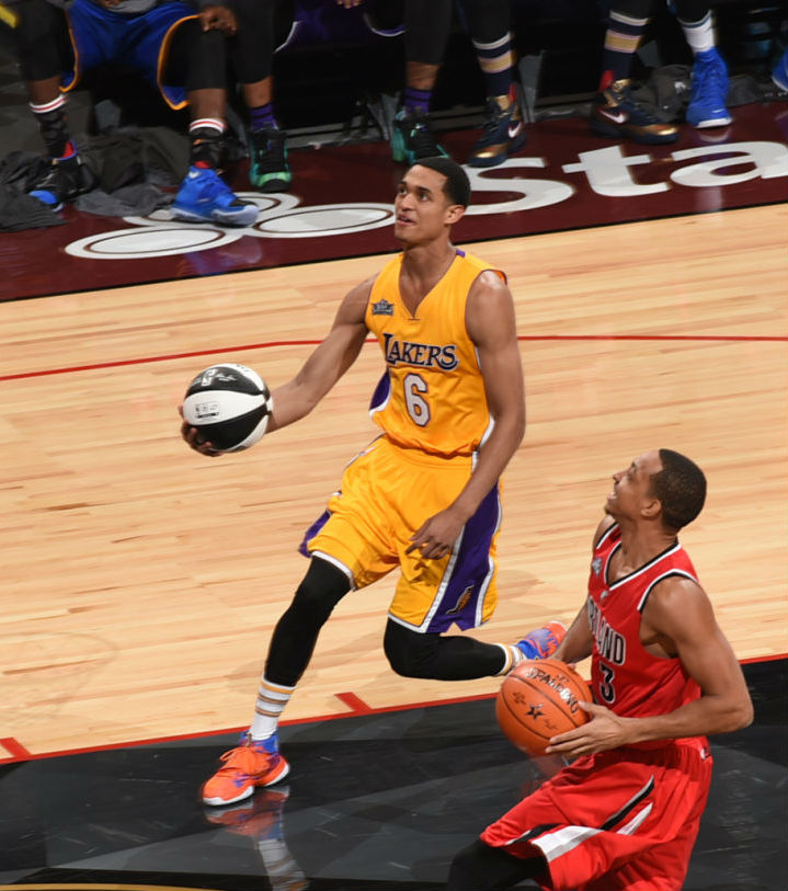 Jordan Clarkson Wearing the Nike HyperRev 2016