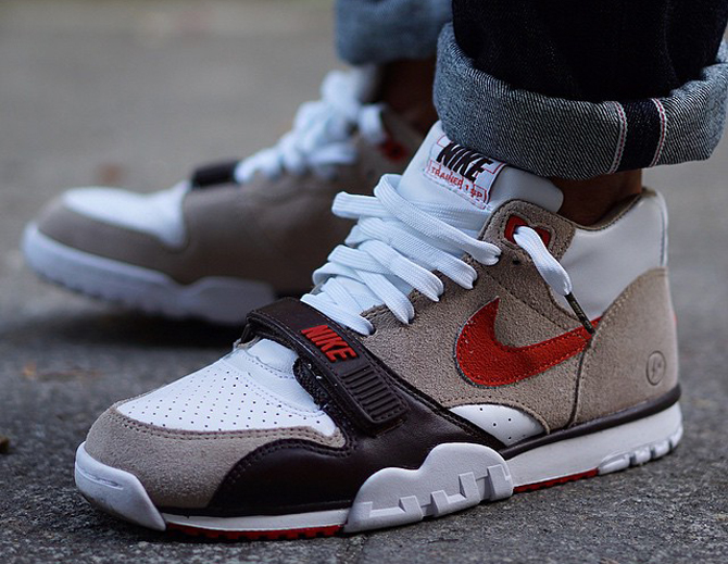 bbd933d0a10 See fragment s Nike Air Trainer 1 Collab On-feet