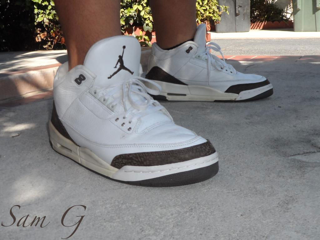 Spotlight // Forum Staff Weekly WDYWT? - 9.21.13 - Air Jordan III 3 Retro Mocha by lashoecollector