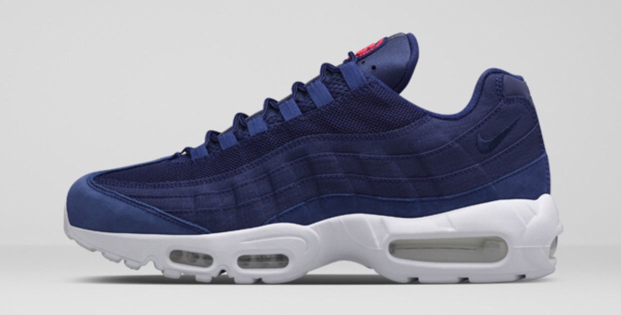 new arrival a79eb 80453 Get a Full Look at the Stussy x Nike Air Max 95 Trio
