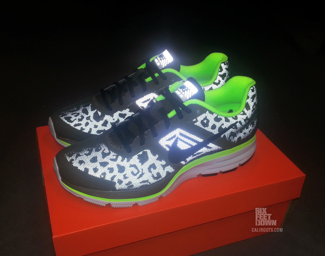 nike air pegasus 30 shield cheetah reflective