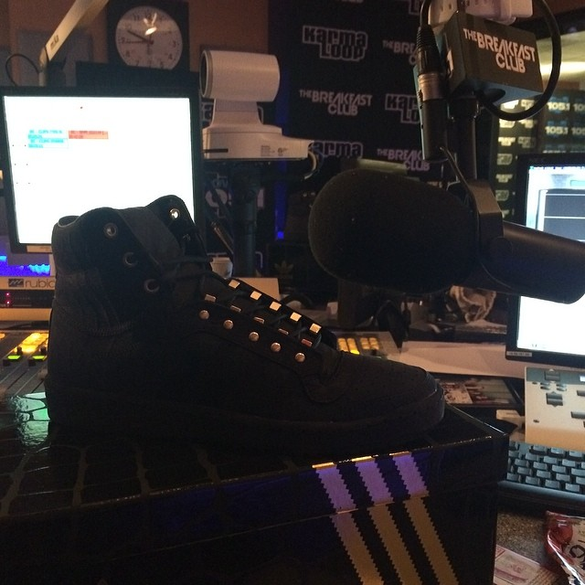 DJ Envy Picks Up adidas Originals Top Ten 2 Good To Be TRU