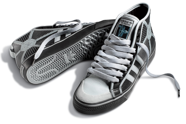 May the Force Be With You  A Brief History of Star Wars Sneakers ... 10eeb9d499