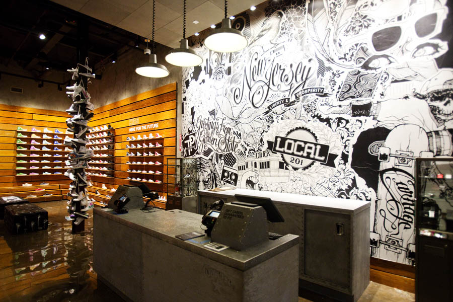 Converse Opens First Mall Based Retail Store In New Jersey