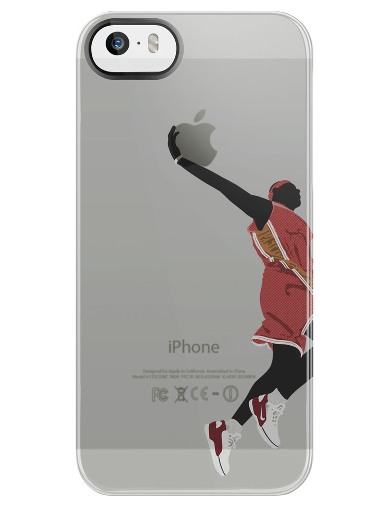 lebron dunking apple logo case. sneakerst x uncommon presents \u0027legacy vol 1\u0027 phone cases // lebron james lebron dunking apple logo case sole collector