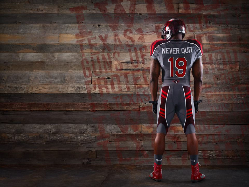 Under Armour Unveils 2013 Texas Tech Lone Survivor Uniforms (2)