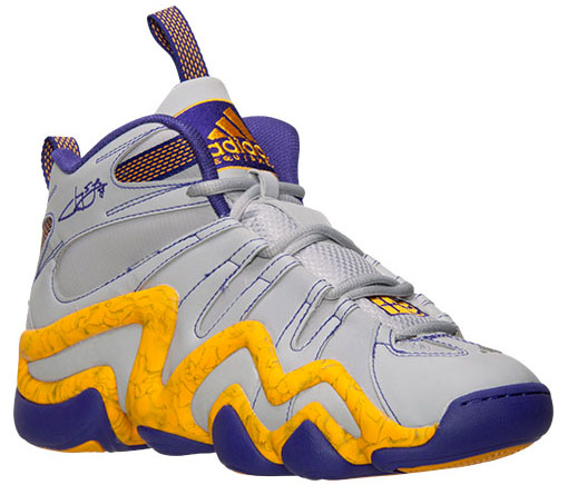 size 40 0943e d0bf8 Jeremy Lin Brings Laker Colors Back to the adidas Crazy 8 | Sole ...