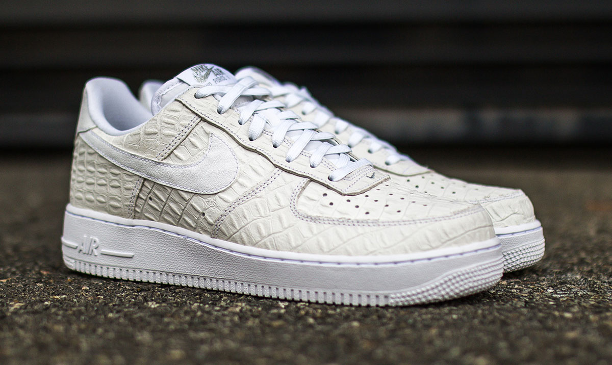nike air force 1 low croc white 2 air force crocodile white