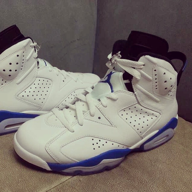 promo code ec1ab 1d8c6 Air Jordan 6 'Sport Blue' From All Angles | Sole Collector