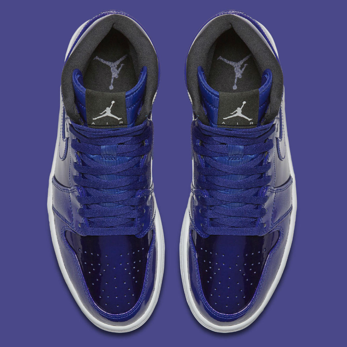 Air Jordan 1 Deep Royal Patent Top 332550-420 b1d7966ab