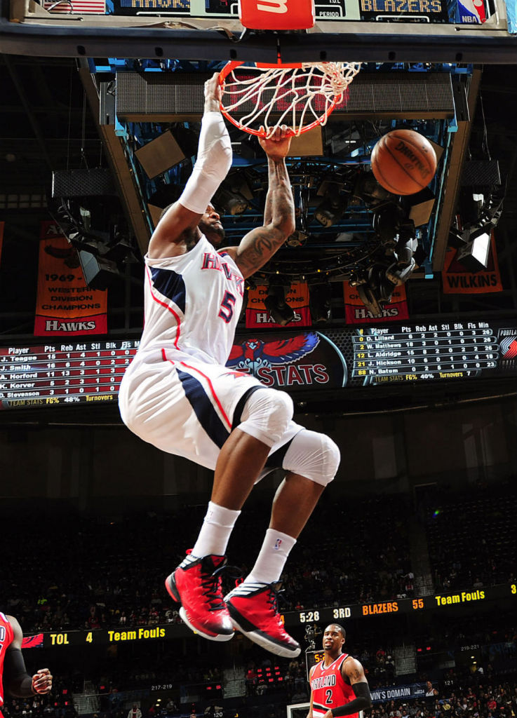 Josh Smith wearing adidas Crazy Fast PE