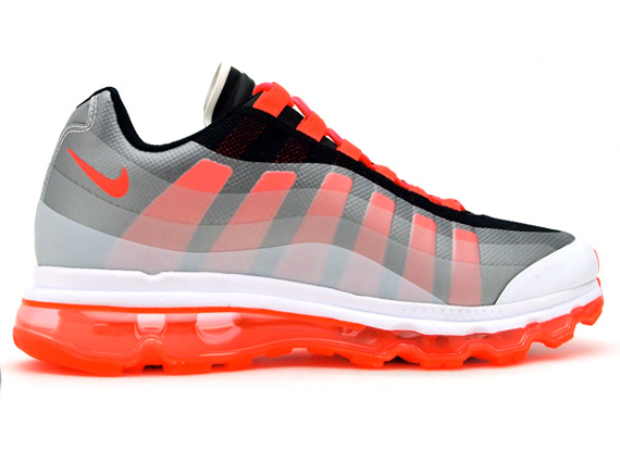 nike air max 95 360 - white/black-solar red