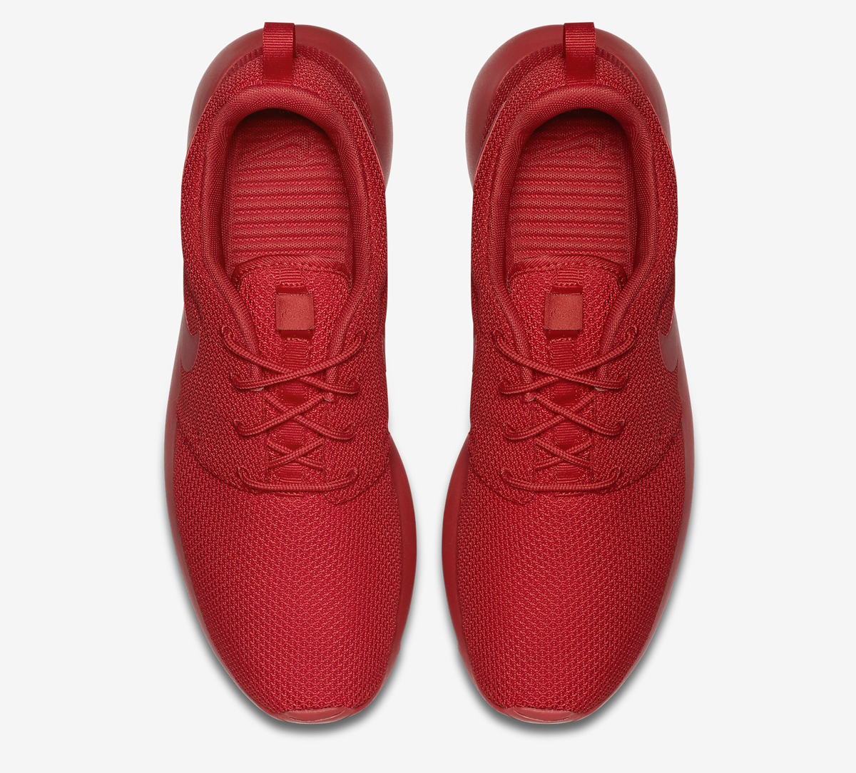 all red nikes