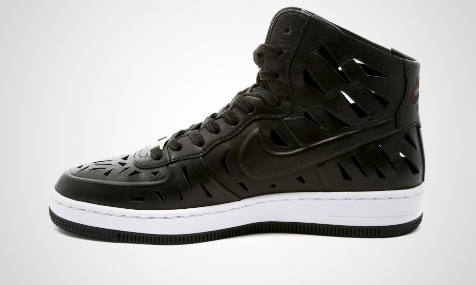 air force 1 ultra force leather and canvas sneakers