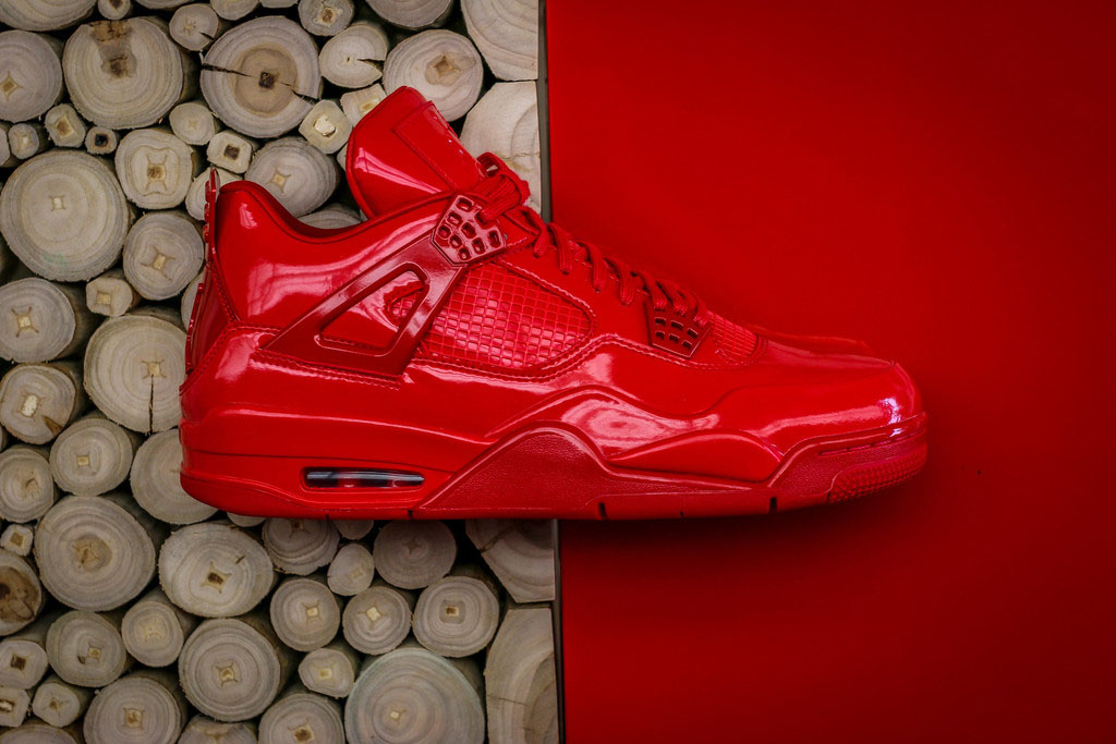 reputable site c0193 86439 Air Jordan 11Lab4 Red 719864-600 (3)