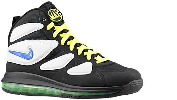 Nike Air Max SQ Uptempo Zoom Game Royal/Black-White-Neon Yellow