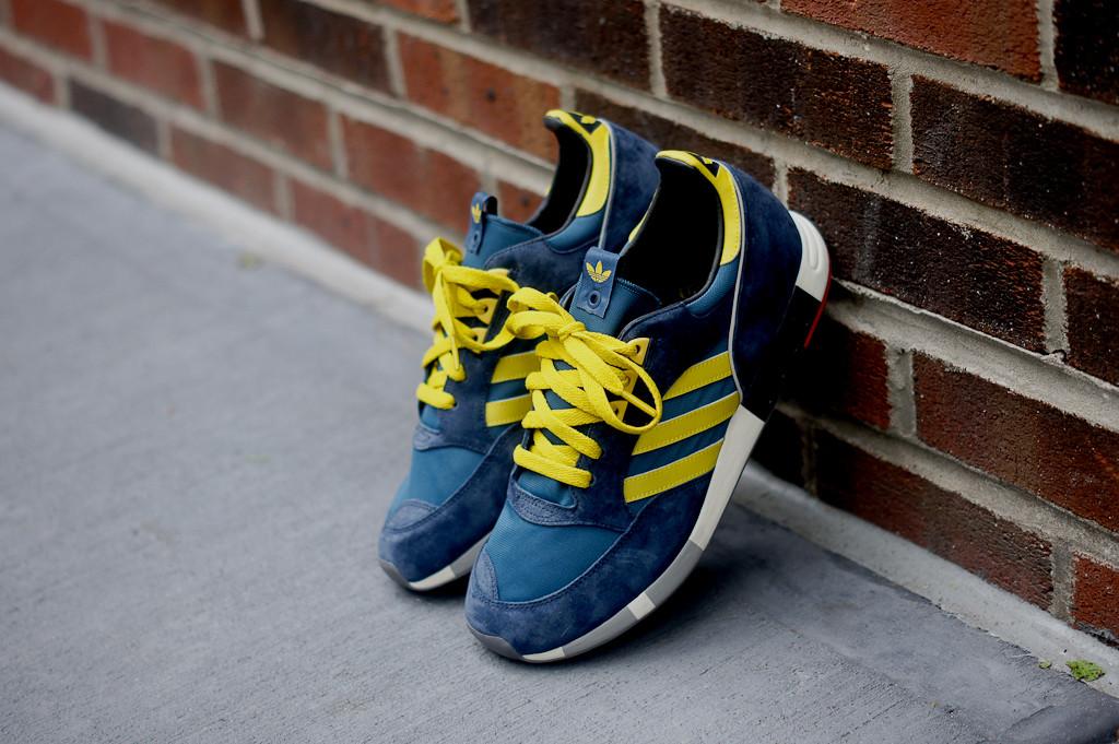 half off 3a191 2b62e ... adidas Consortium Boston Super OG - BlueYellow ...