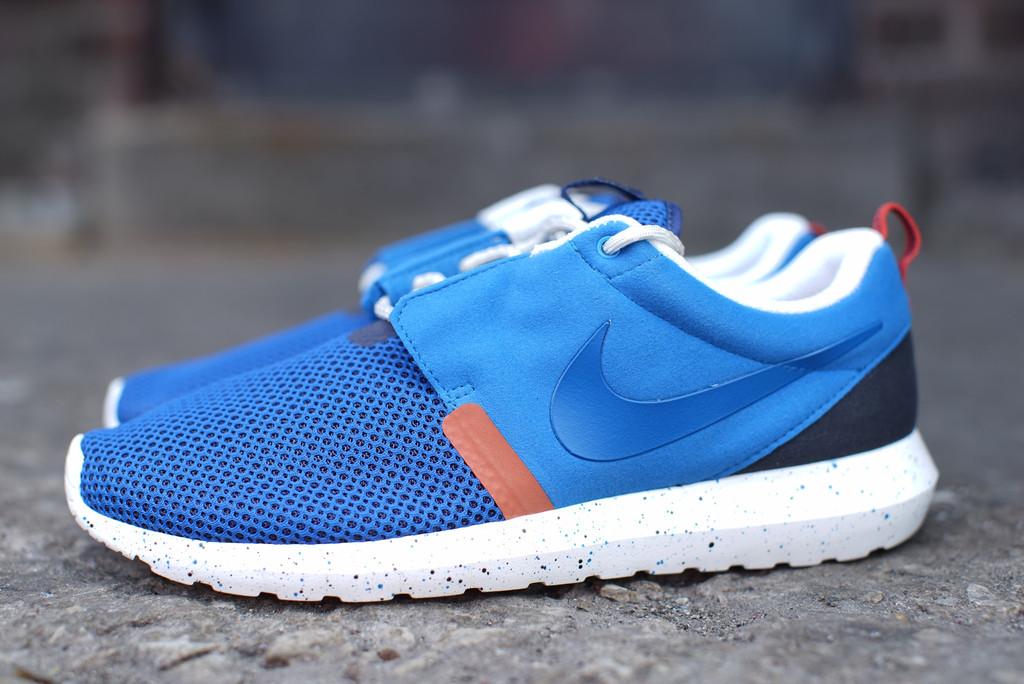 wholesale dealer b323f 575e2 Nike Roshe Run NM Breathe - Military Blue