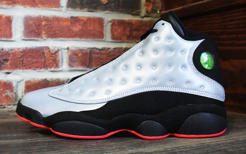 finest selection 24982 f6ec6 Air Jordan 13 Retro Premium  Reflective Silver