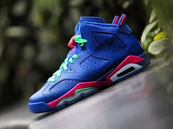 quality design ab5ac 9ffcc New Images of The 'Game Royal' Air Jordan 6 Retro GS | Sole ...