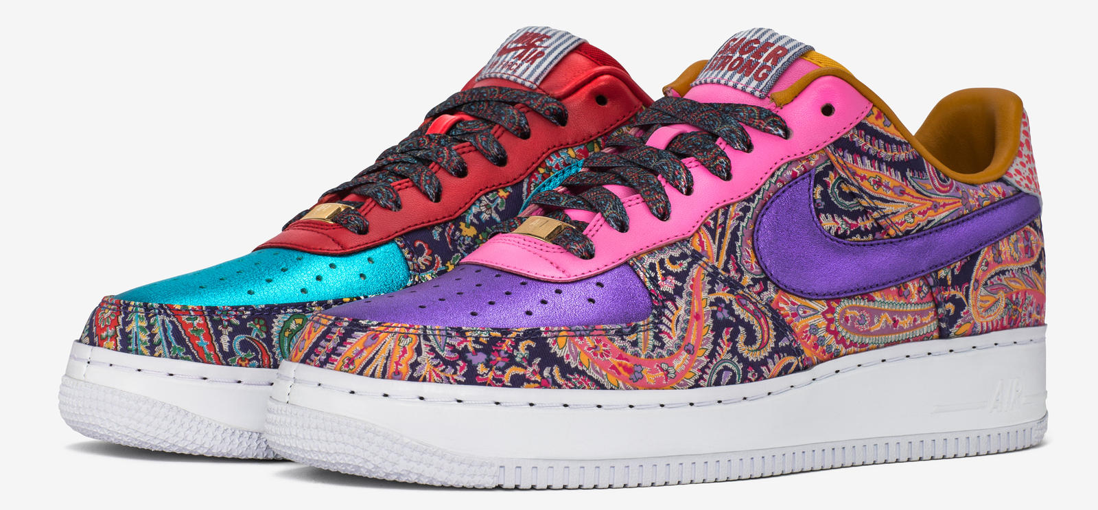 colorful air force 1 shoes
