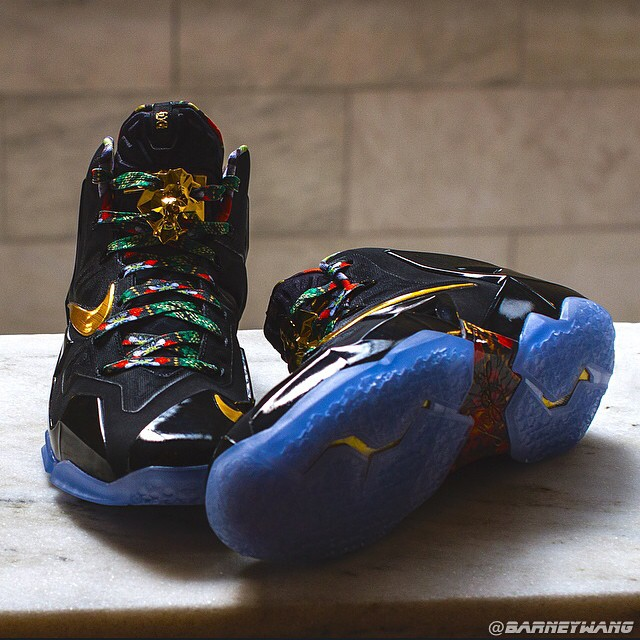 67f1336d0b8 Watch The Throne  in these Exclusive LeBron 11s