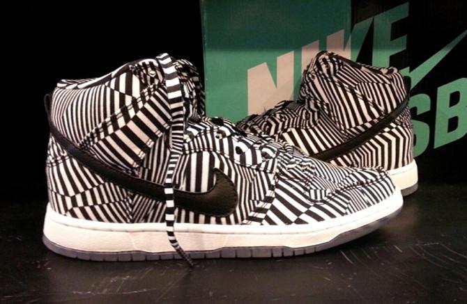 buy nike dunk high black with white pinstripe