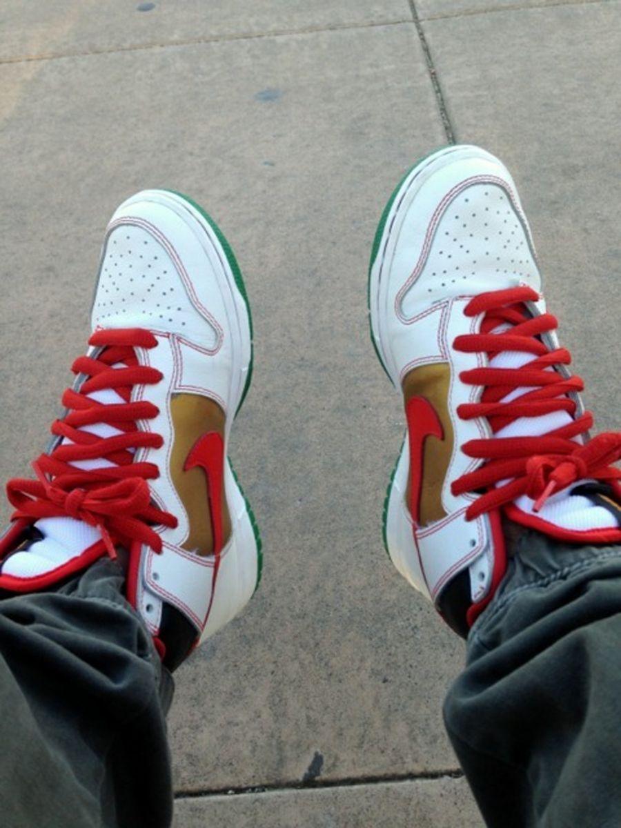 hot sale online b034b 6e01b Shoe Nike SB Dunk High Pro Money Cats