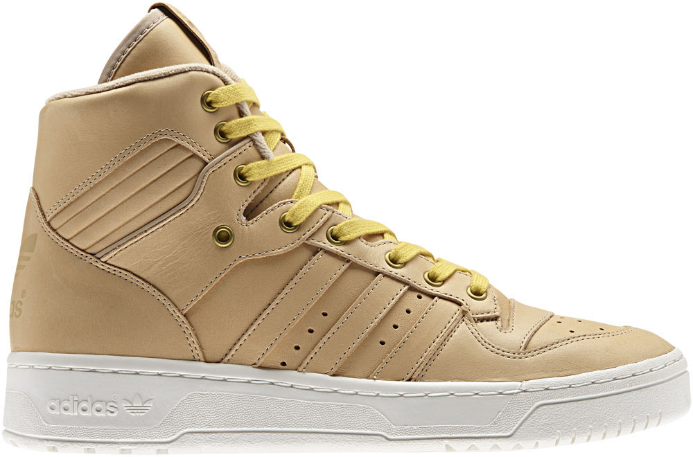 Adidas High Tops Tan