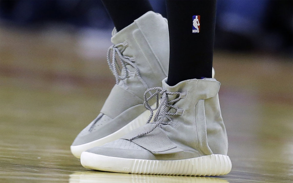 d57c27bb61ec2 Nick Young Is the First Player To Wear adidas Yeezy 750 Boosts in a ...
