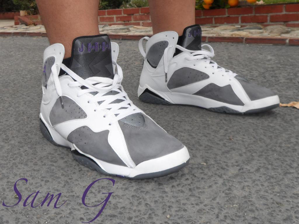 Spotlight // Forum Staff Weekly WDYWT? - 11.16.13 - Air Jordan 7 VII Retro Flint by lashoecollector
