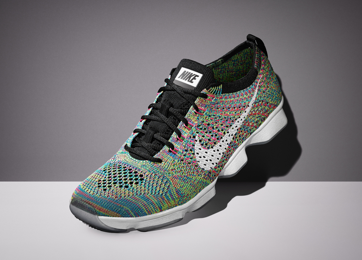 Nike Flyknit and hex Zoom meet on this new shoe for 2015.