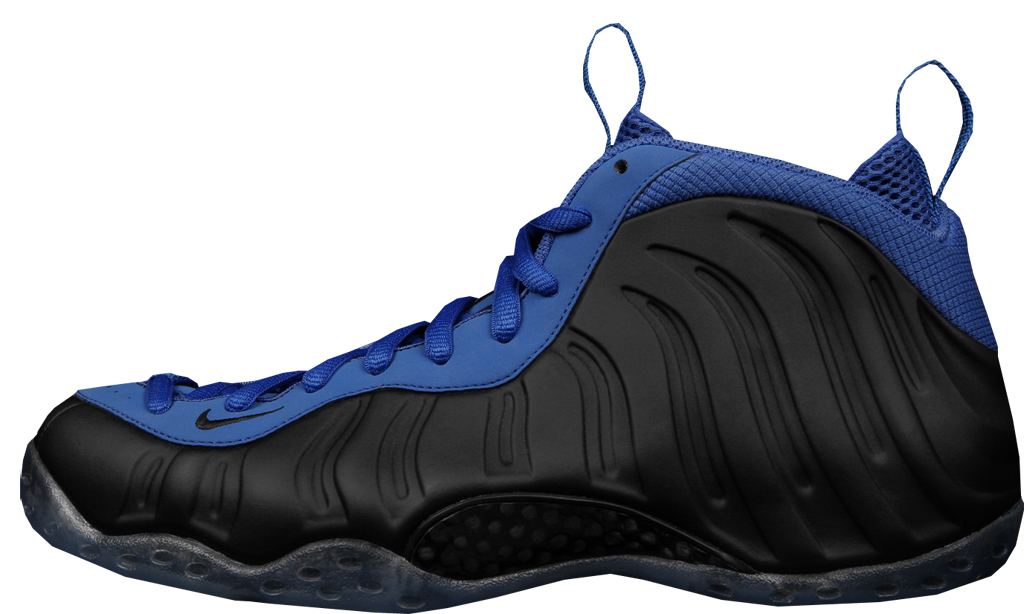 Nike Air Foamposite One \u0026#39;Sole Collector\u0026#39;. Style Code: 314996-094. Colorway: Black/Metallic Copper-Varsity Royal Release Date: 10/29/2011