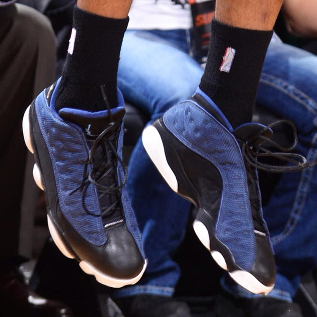 d1e4c9328aa SoleWatch: PJ Tucker Played in 17-Year Old Air Jordan 13 Lows Last ...