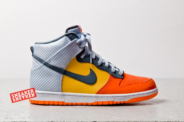 425e96ae125 Take a closer look at the Dunk High in Team Orange   Total Orange below