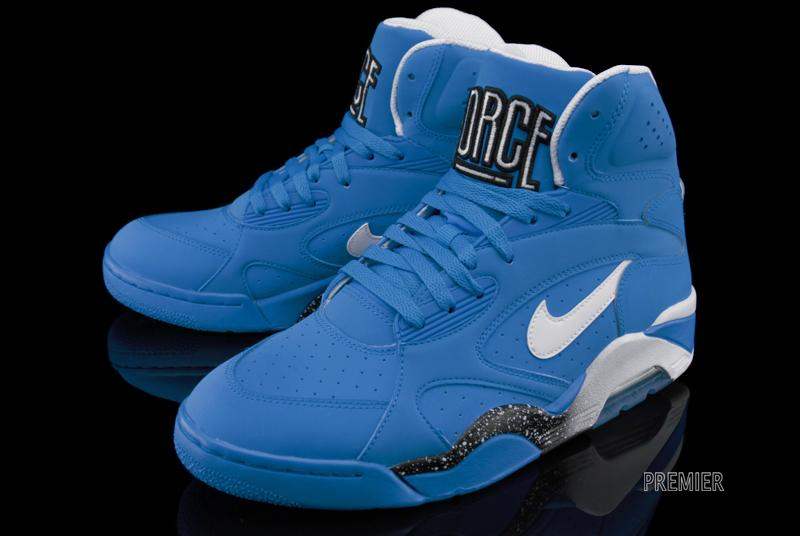 Nike Air Force 180 High 'Photo Blue' New Images Sole Collector