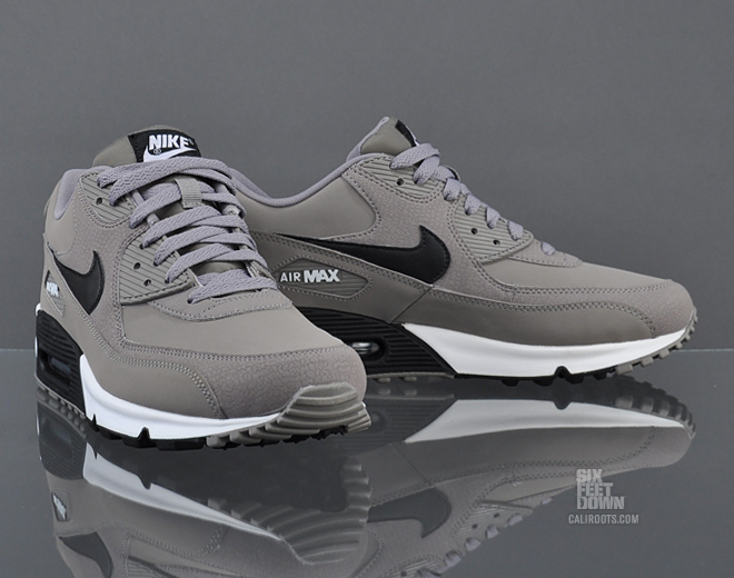 Nike Air Max 90 Black And Grey And White