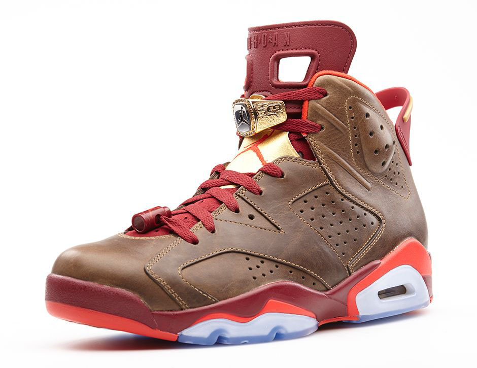 Air Jordan VI 6 Celebration Cigar 384664-250 (3)