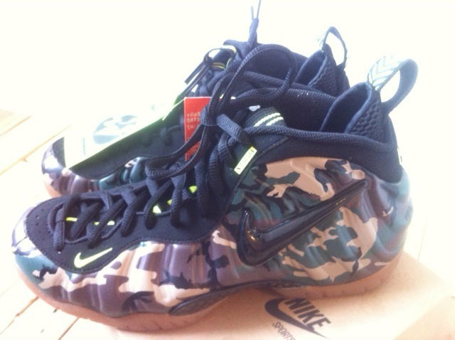 Nike Air Foamposite Pro - Army Camo (3)