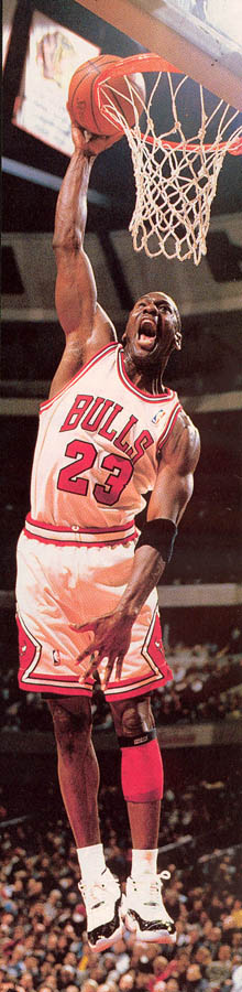 Michael Jordan wearing Air Jordan XI 11 Concord (21)