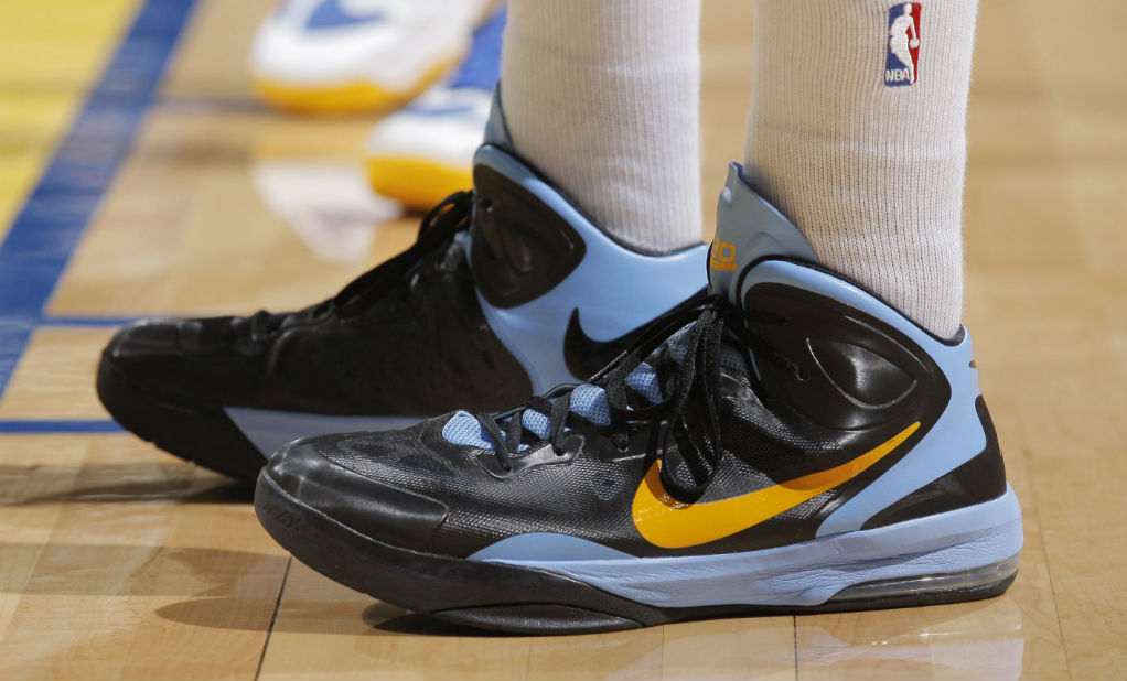 Nike Air Max Hyperguard Up Zach Randolph Away PE (1)