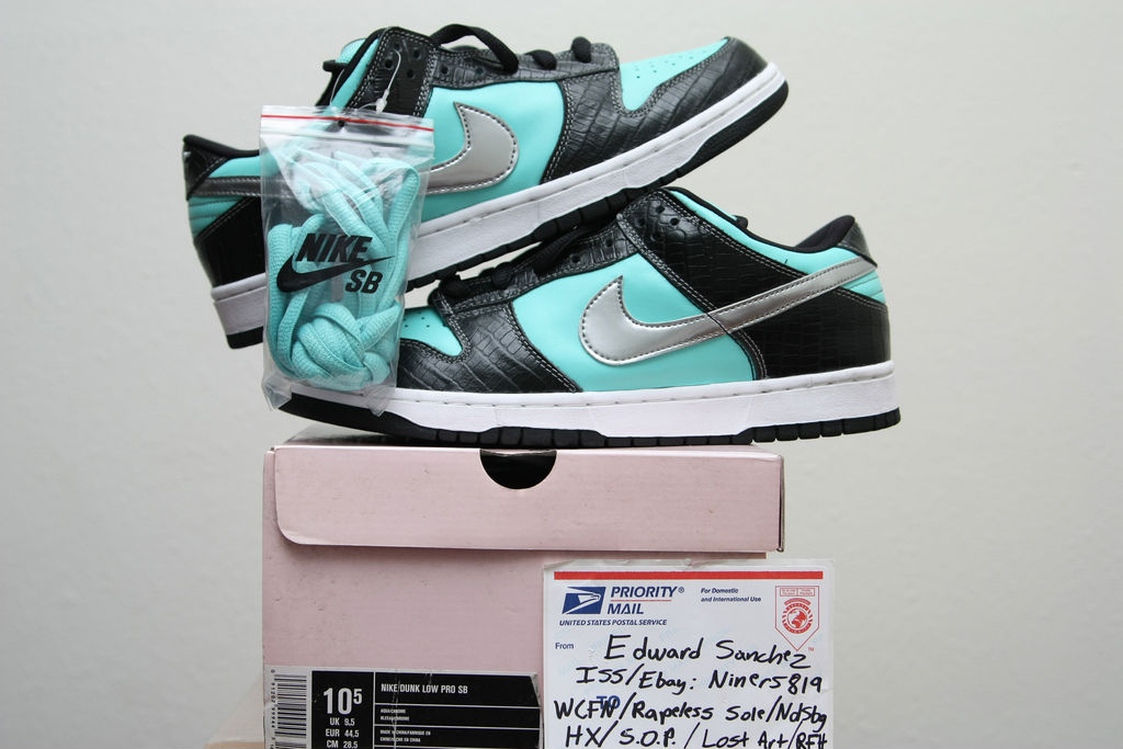 Spotlight // Pickups of the Week 12.15.12 - Nike SB Dunk Low Tiffany by niners819