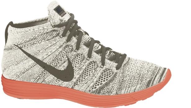 Nike Lunar Flyknit Chukka Tarp Green/Black-Silver-Total Crimson