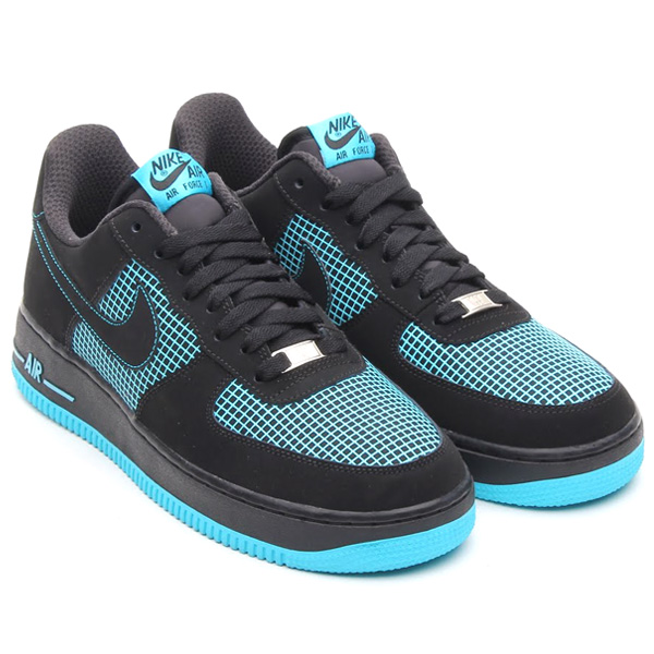 nike air force 1 low black gamma blue net