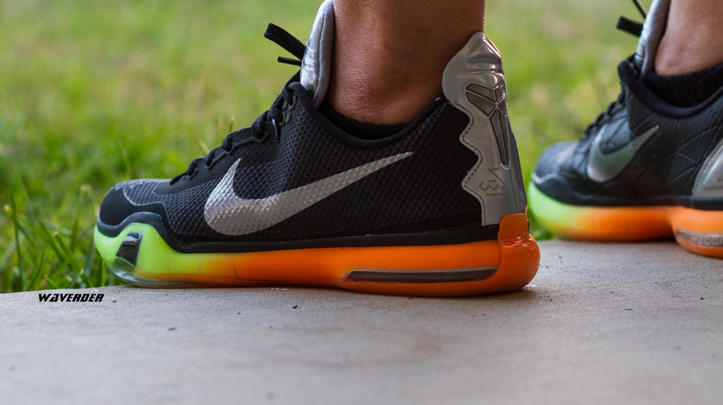 waverder wearing the 'All-Star' Nike Kobe X 10