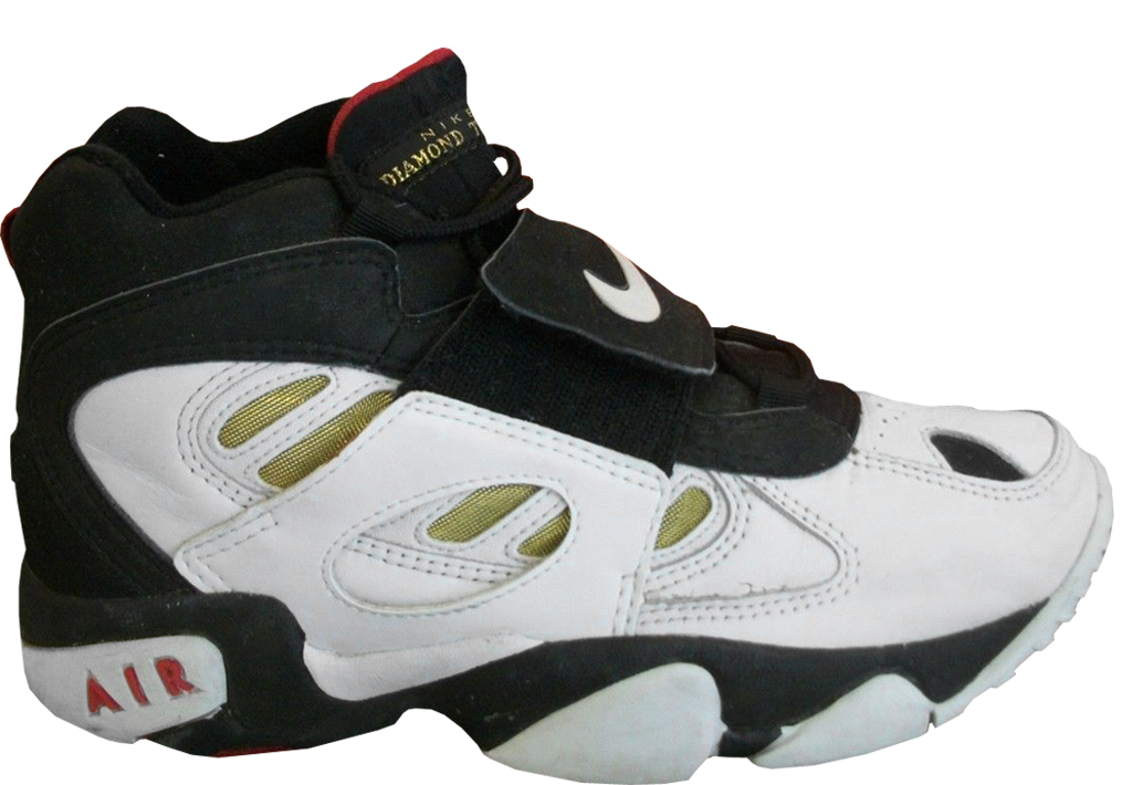 sports shoes c61e2 b384b The History of Deion Sanders and the Nike Air Diamond Turf