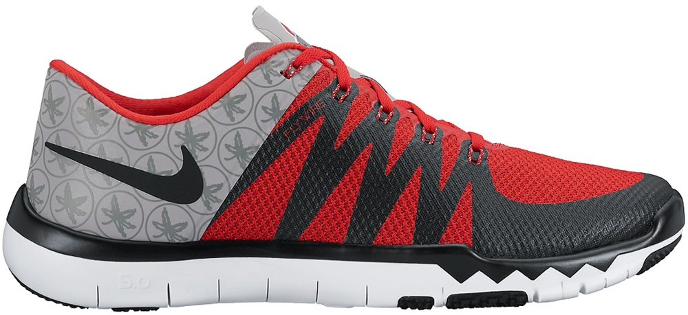 Nike Free Trainer 5.0 V6 Amp Wolf Grey/University Red-White-Black
