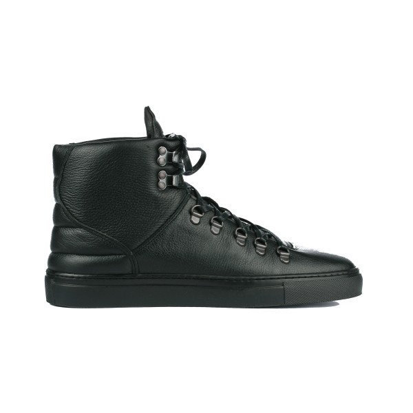 Filling Pieces Mountain Boot in black leather profile