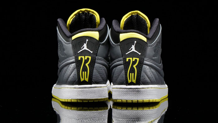 Air Jordan I 1 Retro '99 Cool Grey/Vibrant Yellow-Black-White 654140-032 (4)
